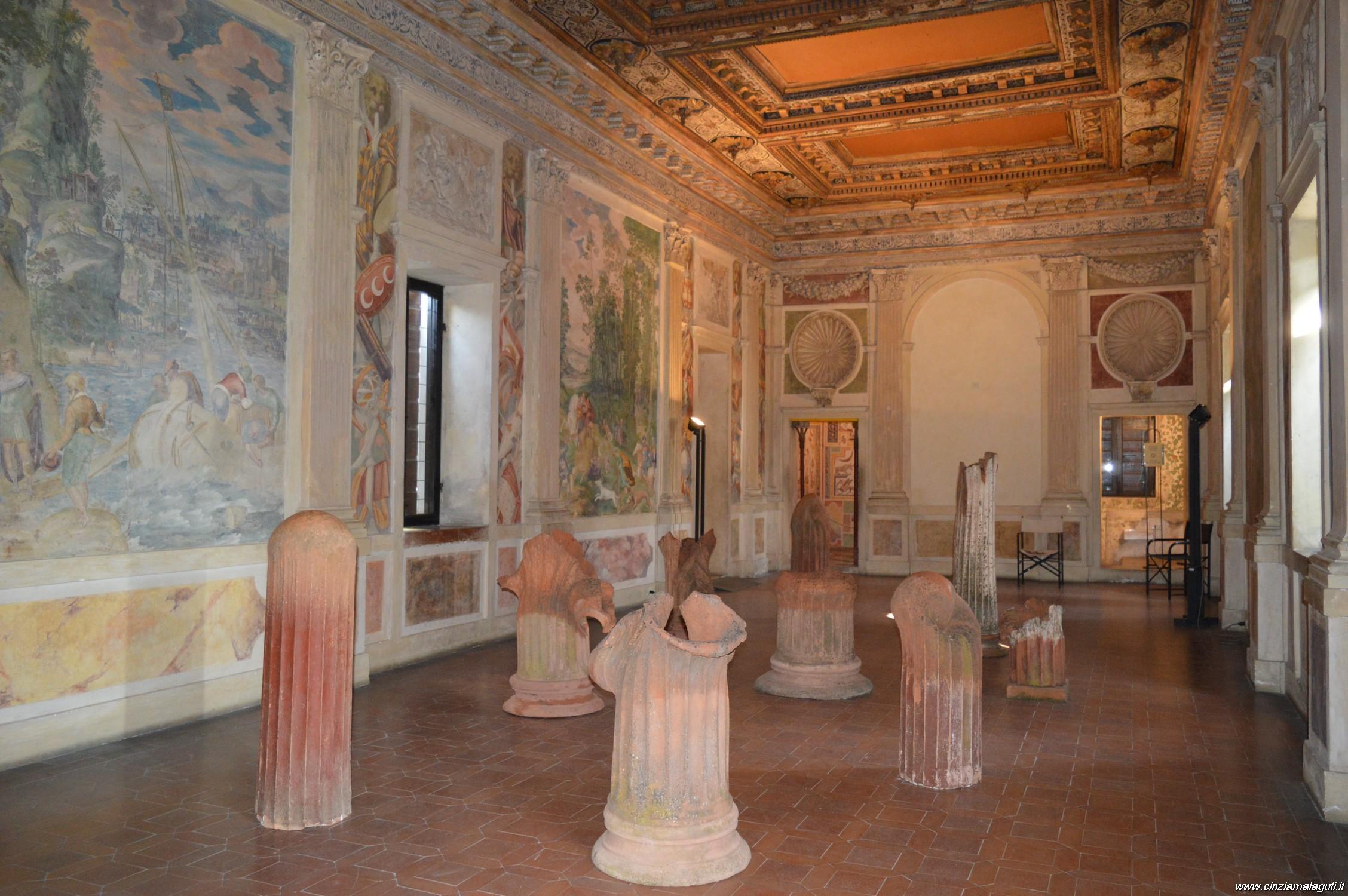 Sabbioneta palazzo giardino sala degli specchi - Sala degli specchi ...