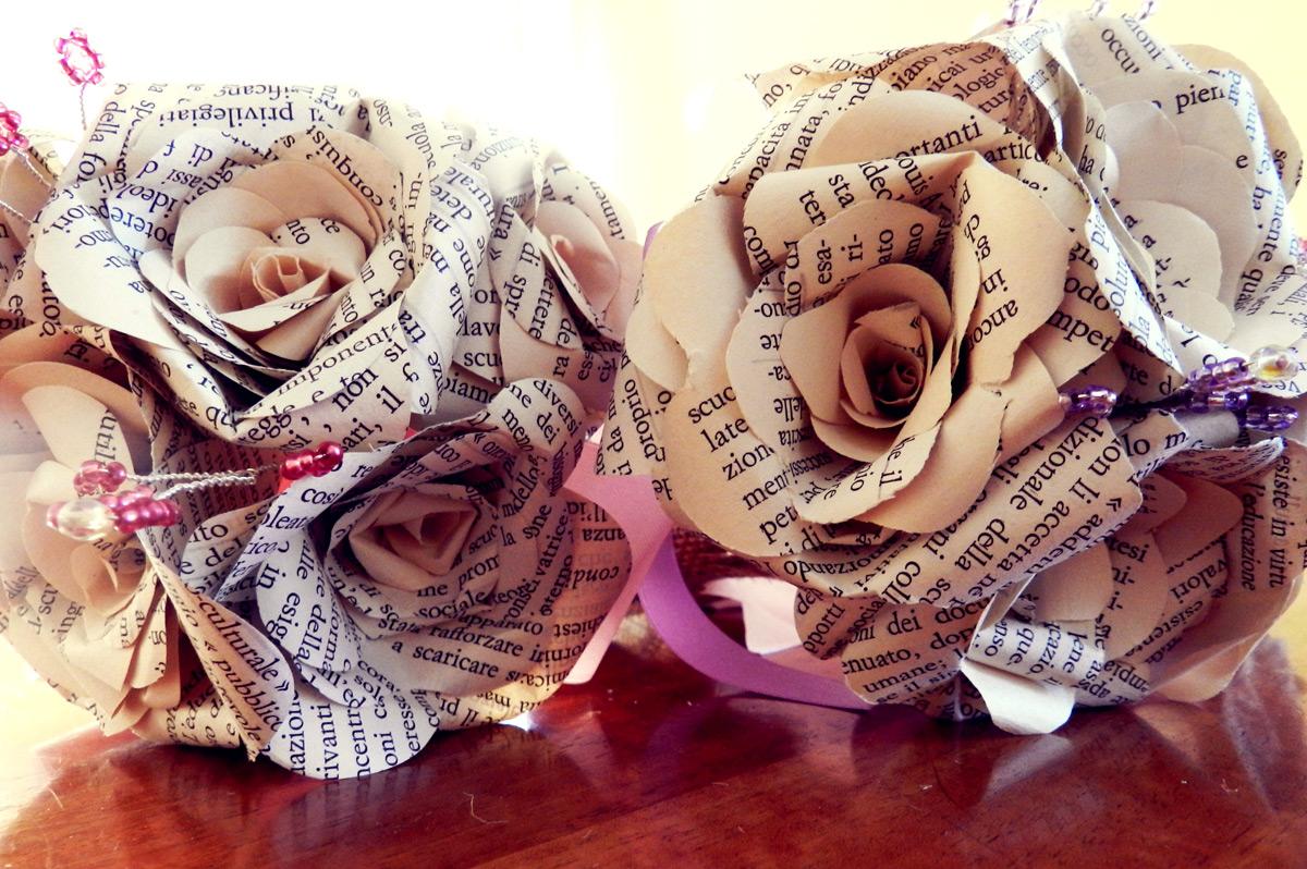 Letteratura d carrisi la donna dei fiori di carta for Fiori di carta di giornale