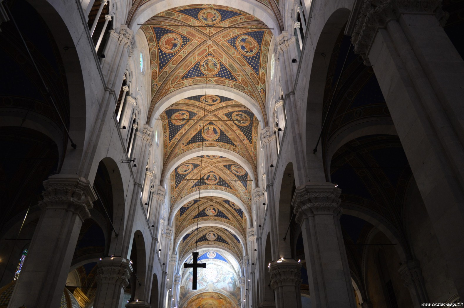 Lucca Cattedrale S Martino Soffitto Interno Esperienziando Vitae
